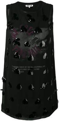 McQ embellished shift dress