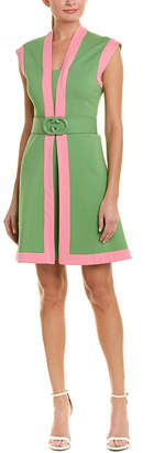Gucci Pleated A-Line Dress