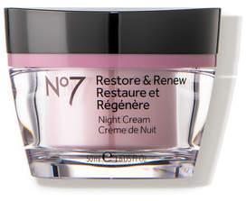 No7 Restore Renew Night Cream