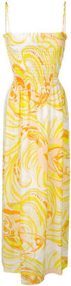 Emilio Pucci printed maxi dress