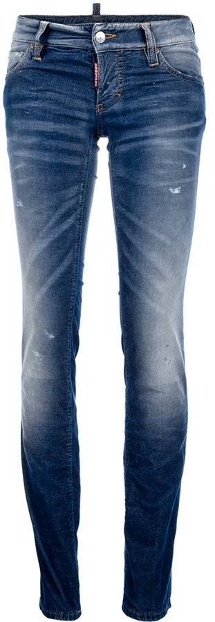 Dsquared2 Faded skinny jean