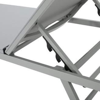 Orren Ellis Faizan Aluminum Frame Chaise Lounge