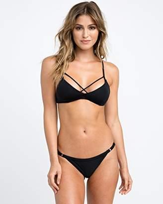 RVCA Women's Solid Bralette Bikini Top
