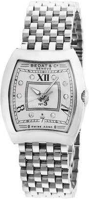 Bedat & Co Women's Estate Stainless Steel & Diamond No. 3 Watch, 28mm