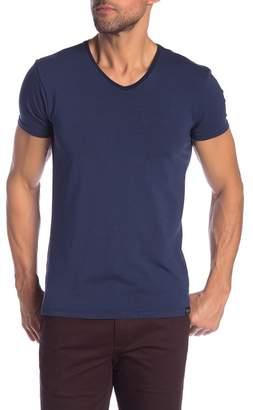 Scotch & Soda Striped V-Neck T-Shirt