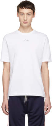 Band Of Outsiders White Outsider T-Shirt