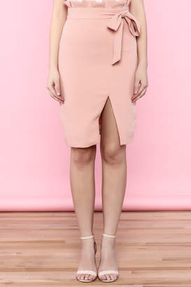 English Factory Blush Skirt $72 thestylecure.com