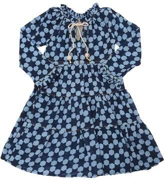 Printed Cotton Voile Maxi Dress