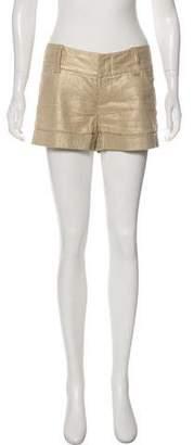 Alice + Olivia Low-Rise Mini Shorts
