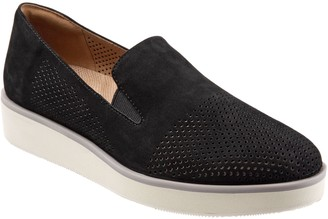 SoftWalk Leather Slip-on Loafers - Whistle