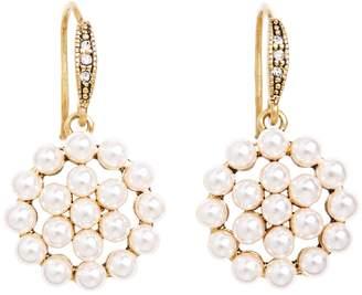 Brooks Brothers Tonal Pearl Drop Earrings