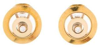 Chopard 18K Diamond Happy Spirit Earclips
