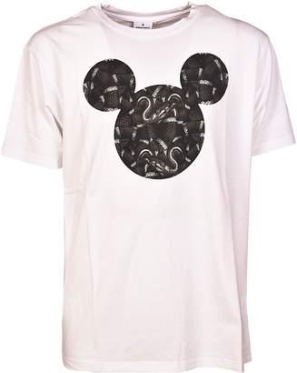 Marcelo Burlon County of Milan Mickey Mouse Snakes T-shirt