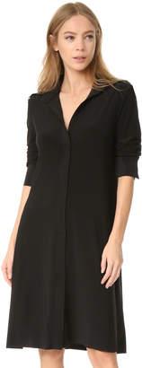 Norma Kamali Kamali Kulture Shirt Swing Dress $160 thestylecure.com