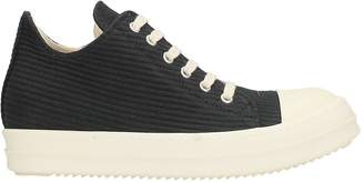 Drkshdw Black Wool Sneakers