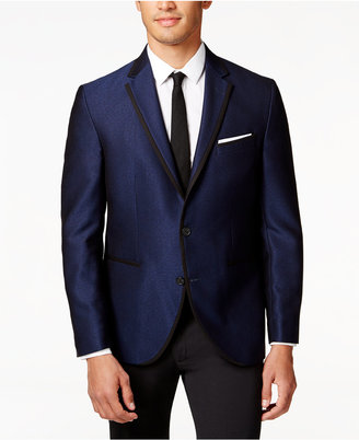 Kenneth Cole Reaction Men's Solid Slim-Fit Dinner Jacket $295 thestylecure.com