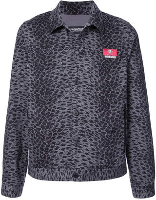 Undercover printed back leopard print jacket
