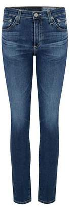 AG Jeans Prima Ankle Cigarette Jean in 8 Years Blue Portrait