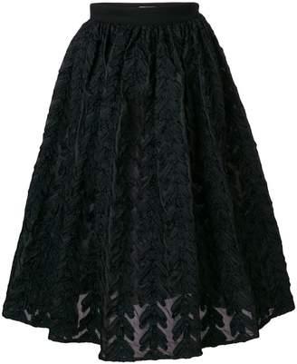Lardini brocade full skirt