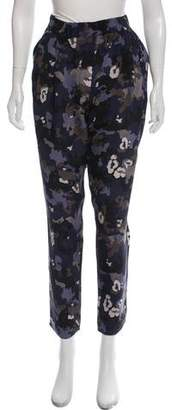 3.1 Phillip Lim Camo Silk High-Rise Pants