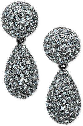 Nina Pave Teardrop Earrings