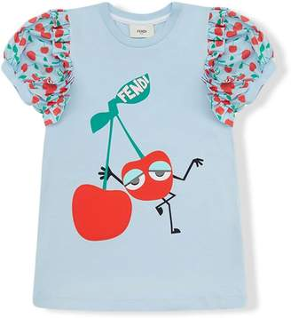 Fendi cherry print top