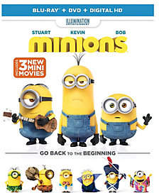 Universal Studios Minions Blu-Ray, DVD, and Digital HD