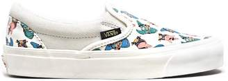 Vans Slip-On Spongebob White