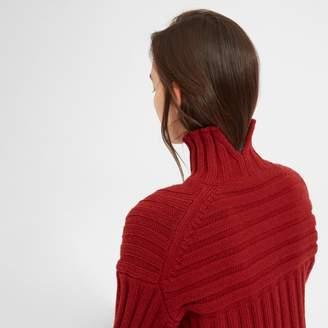 Everlane The Wool-Cashmere Rib Oversized Turtleneck