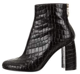 Stella McCartney Vegan Round-Toe Ankle Boots