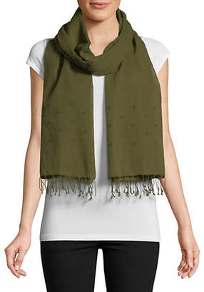 Eileen Fisher Organic Cotton Fringe Scarf