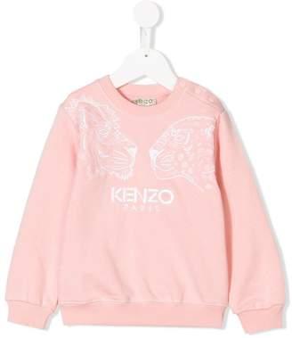 Kenzo big cat embroidered sweatshirt