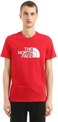 The North Face Logo Printed Cotton Jersey T-Shirt