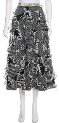 Roksanda Textured Tweed Skirt