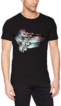William Rast Men's Novelty Short Sleeve Graphic Tees