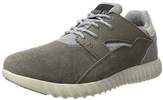 Replay Mens GMS41 .000.C0006L Low-Top Sneakers Grey Size: 44