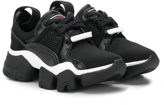 Givenchy Kids logo low-top sneakers