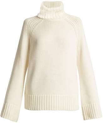 Joseph Ribbed roll-neck wool sweater