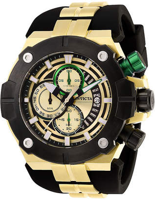 Invicta Sea Hunter Mens Chronograph Two Tone Stainless Steel Strap Watch-28051