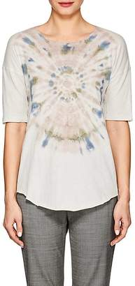 Raquel Allegra Women's Tie-Dyed Cotton-Blend T-Shirt