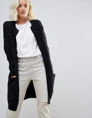 Selected Livana Mohair Wool Blend Long Cardigan
