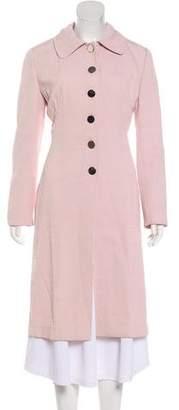 Dolce & Gabbana Notch-Lapel Long Coat