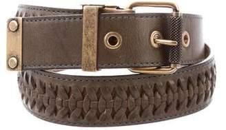 Proenza Schouler Leather Woven Belt