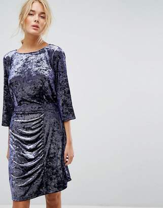 Gestuz Crushed Velvet Dress