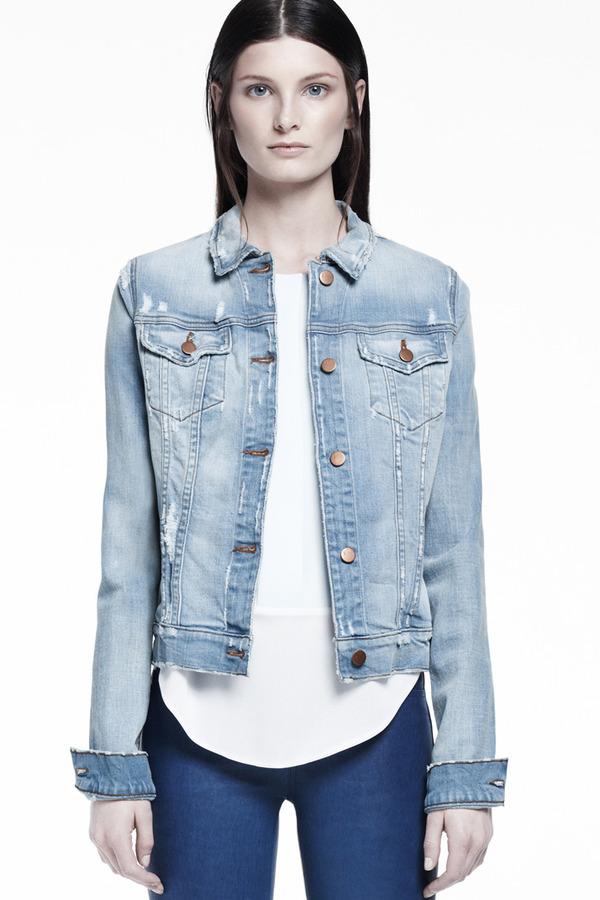 J Brand 403 Destructed Jacket