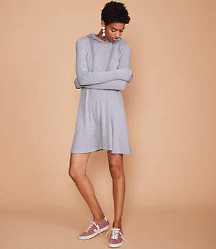 Lou & Grey Signaturesoft Hoodie Dress