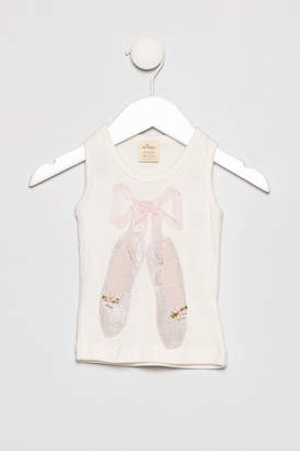 Oh Baby Ballet Slippers Tank