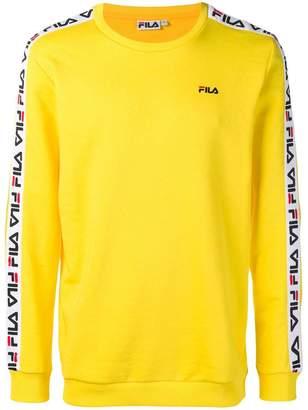 Fila logo taping sweatshirt