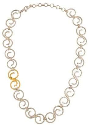 Gurhan Two-Tone Vortex Collar Necklace