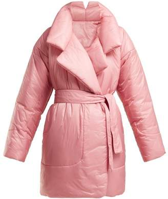 Norma Kamali Sleeping Bag Knee Length Coat - Womens - Pink
